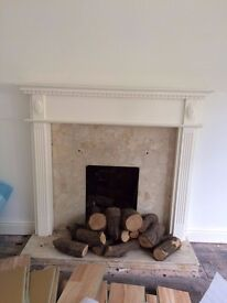 Wooden Fireplace Frame