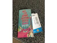 2 x Weekend Isle of Wight festival tickets