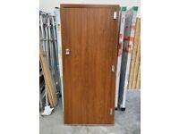 Solidor Front door in Golden Oak colour