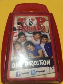 One Direction Top Trump Cards