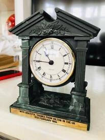 Vintage removable clock face