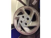 4 RS turbo alloys no tyres