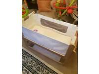 Snuzpod Wooden Bedside Baby Cot