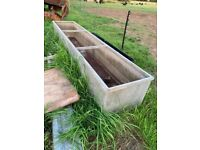 Various Troughs and Tubs for Planters