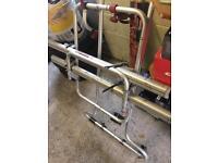 Fiamma double bike rack for tailgate vw t4