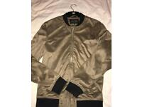 River island suede jacket small