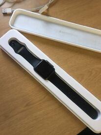 Apple Watch 42mm series 1 space grey mint