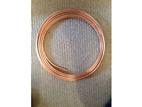 8mm (microbore) copper pipe - 8 metres for £10 or nearest offer
