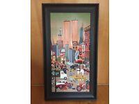 New York Original Oil Painting 1993