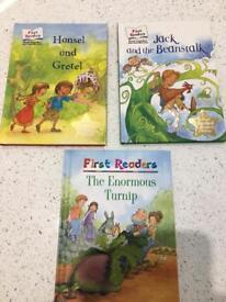 First Reader books