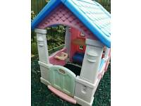 Little tikes 2 in 1 dollhouse playhouse (pending collection sat)