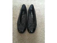 Black Gabour Shoes size 4