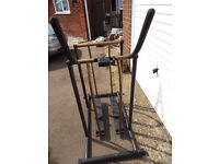 sturdy cross trainer in good working condition