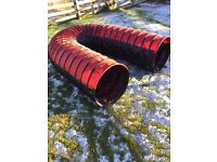 Dog tunnel and weave pole set £100, agility equipment.NEW. Cost over £300