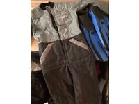 ** Diving Gear / Equipment - Suit & Flippers **