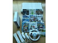 Nintendo Wii Games Bundle + Balance Board