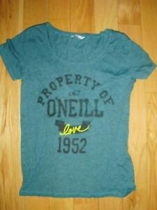 Women's O'Neill Teal Green T'shirt, size Med London Ontario image 1