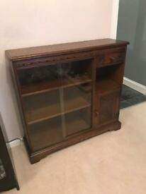 Oak old charm bookcase