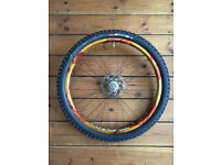 "Handbuilt 26"" MTB rear wheel Q/R (Hope/DaBomb/DT Swiss/Shimano)"