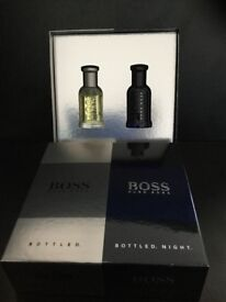 Brand New & Official Hugo Boss Bottled & Boss Bottled Night 30ml Gift Set.