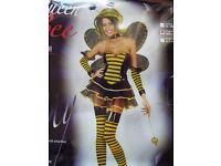 Gorgeous Ladies Halloween Costume Bumble Bee Brand New!