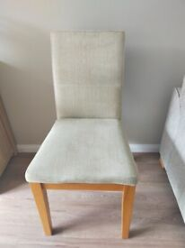 Free ! 6 'Next' Dining Room Chairs must be gone by this Friday