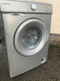 Montpellier silver 6kg washing machine