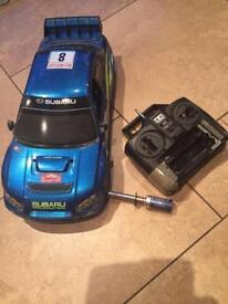 Remote control petrol car