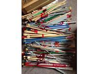 Knitting needles - £1.50 a pair!