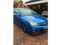 Vauxhall Astra vxr, lovely car, stainless system, purple alloys