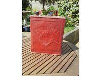 Vintage Shellmex BP metal petroleum fuel can