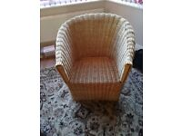 Garden / conservatory wicker chairs