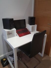Handmade Music Production Table Desk Studio