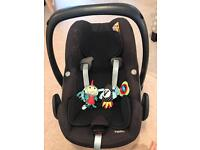 Maxi-cosi pebble car seat and ISO 2-way fix