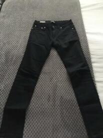 Jack & Jones black super skinny jeans