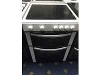 New Ex-Display LOGIK LFTC60W16 60 cm Electric Ceramic Cooker - White £199