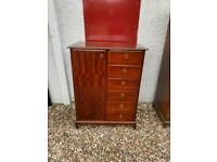 Stag Minstrel combination wardrobe chest * free furniture delivery *