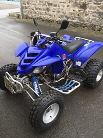 Road legal blue yamaha raptor 660