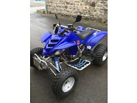 Road legal blue yamaha raptor 660