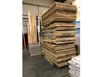 Used plywood