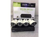 Full 960H DVR HDMI Night Vision 4pc 800TVL CCTV Security Camera System