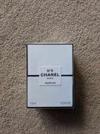 7.5ml Chanel No.5 Perfume unopened and sealed