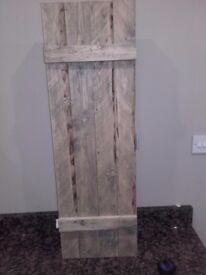 Rustic Trunk Style Kitchen/Bathroom Cupboard (2)
