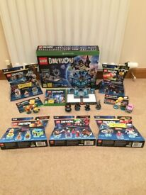 Lego Dimensions Starter Pack Xbox One + 7 Other Sets