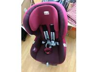 Britax Safefix Plus Isofix Forward Facing Group 1 Car Seat (Dark Grape
