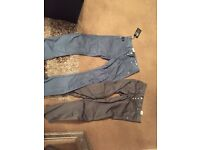 Mens unworn jack and jones trousers