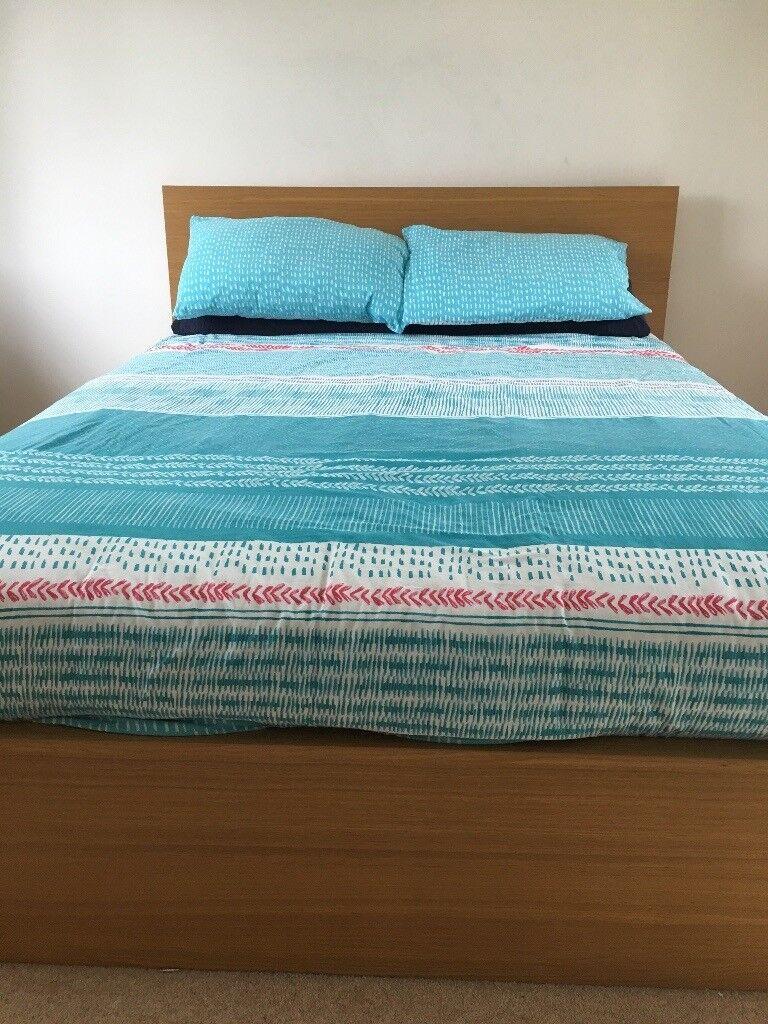 IKEA Malm king bed