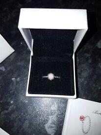 Pandora october birthstone ring