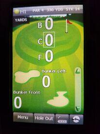 Golf Course Sat-Nav