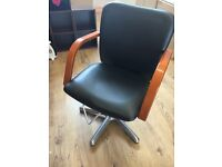 2 hydraulic barber chairs